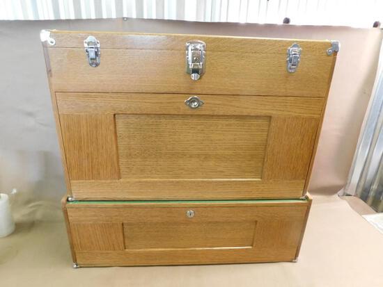 Oak H. Gerstner Machinists chest