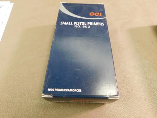 CCI Small Pistol Primers NO SHIPPING