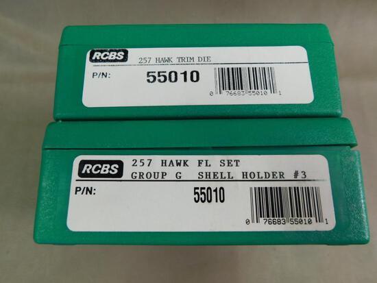 RCBS 257 Hawk reloading dies