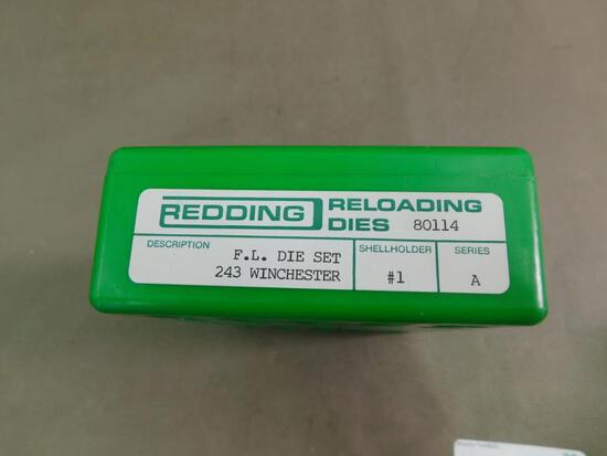 Redding 243 Winchester reloading dies