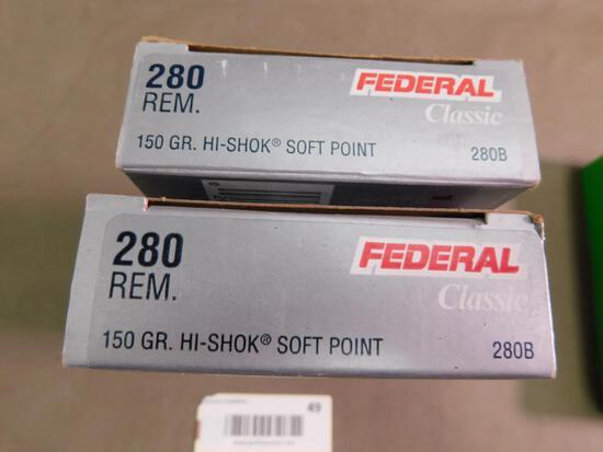280 Remington 7mm Express ammunition