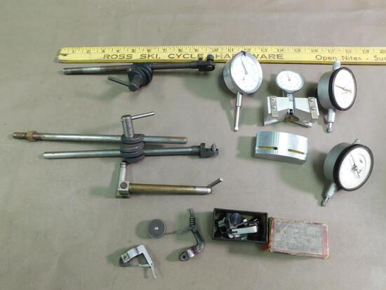 Machinists height gauges and tooling