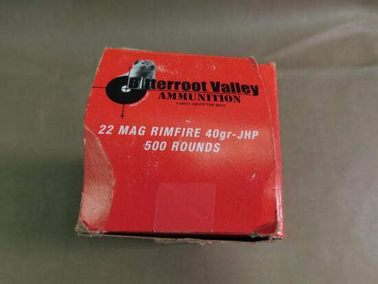 22 Magnum ammunition