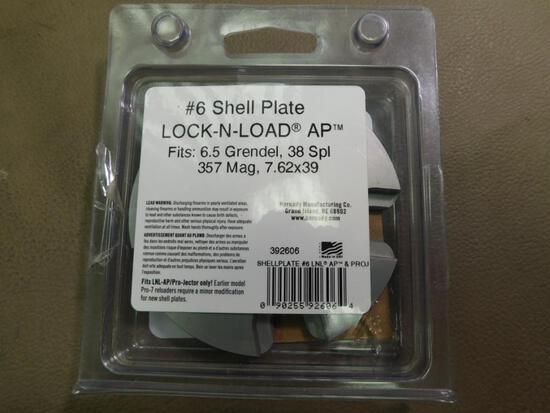Hornady #6 shell plate shell holder for 38/357 magnum