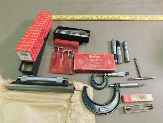 Starrett Machinists tools