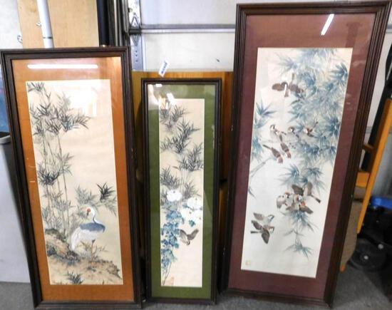 Silk Matted Rice Paper Art