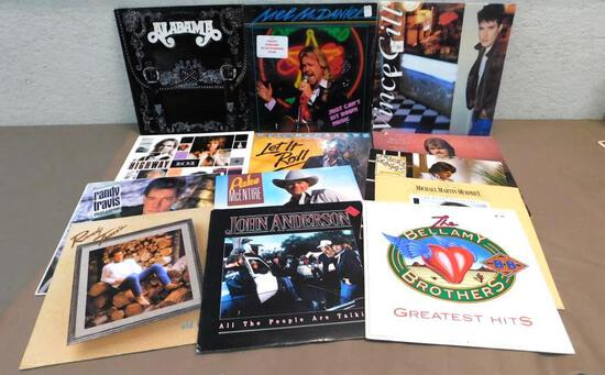 80's Country Record Assortment