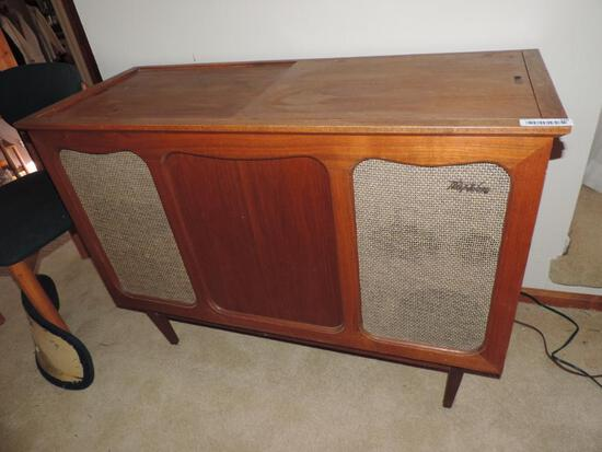 Mid century record cabinet.