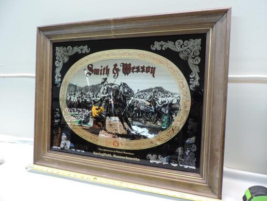 Smith & Wesson mirror.