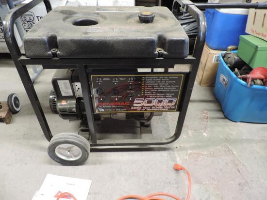 Generac 5000 watt generator.