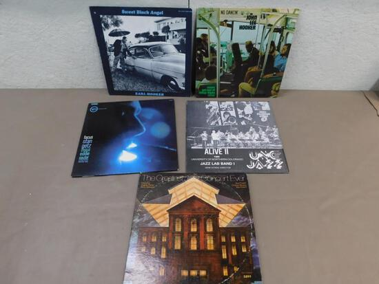 Jazz and Blues Record Assortment