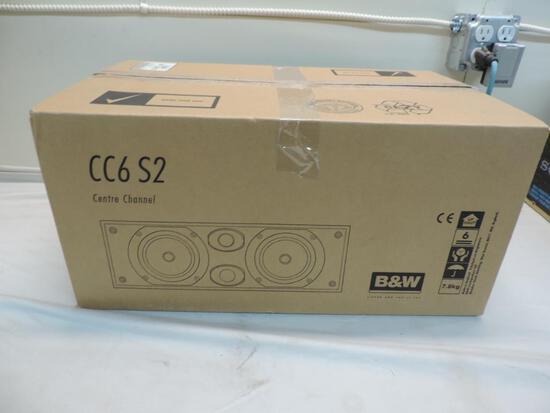 Bowers & Wilkens CC6 S2 center channel speaker.