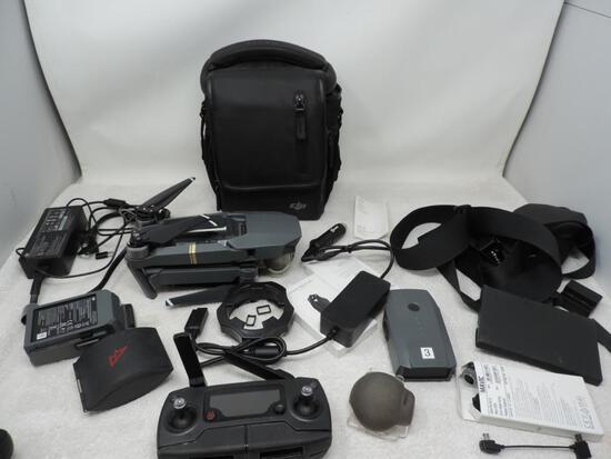 DJI Mavic Pro model M1P drone with Accessories.