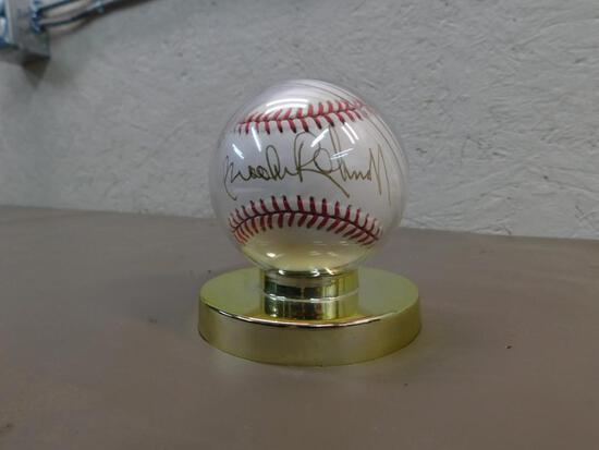 Brooks Robinson Signed Baseball