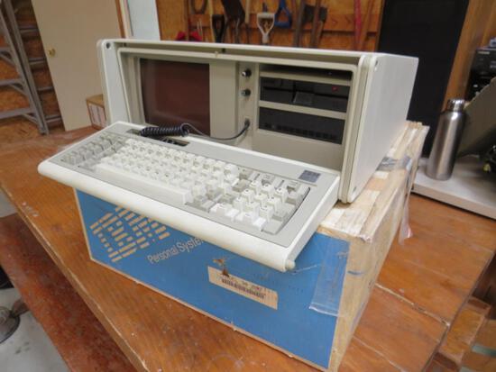 Original IBM 30 286 portable Personal Computer