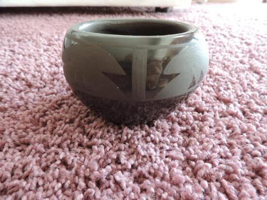 Santa Clara Pottery Piece