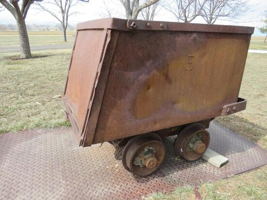Antique Miners Ore Cart