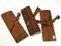 Lot of 3 smallest-of-size wooden moulding planes.