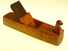 Carved Scandinavian hollowing plane.