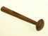 Macadamizing hammer.