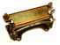 C.S. Osborne bench-mounted leather splitter.