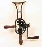 Ashcroft ratcheting breast drill with reciprocating action, 1910 patent.