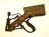 Pearson's Nailer hammer-activated nail gun, ca. 1900.