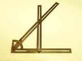 Crookston Patent 1909 builder's layout tool.