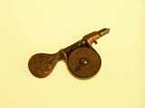 Artistic bronze speed indicator.