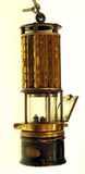Wolf brand miner's safety lamp.