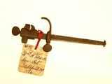 Patent model of a saw set, 1874.