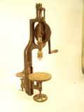 Yankee No. 1005 bench-mount hand drill press.