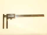Early vernier caliper & depth gauge.