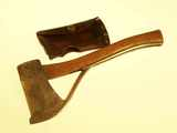 Marble's Arms No. 6 safety hatchet with guard.