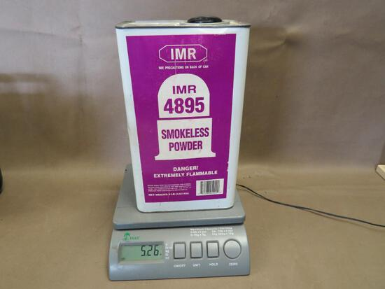 IMR 4895 Gunpowder for Reloading NO SHIPPING