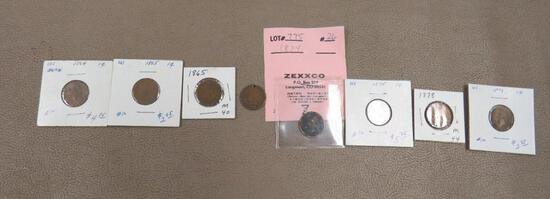 US Indian Head Penny Coins