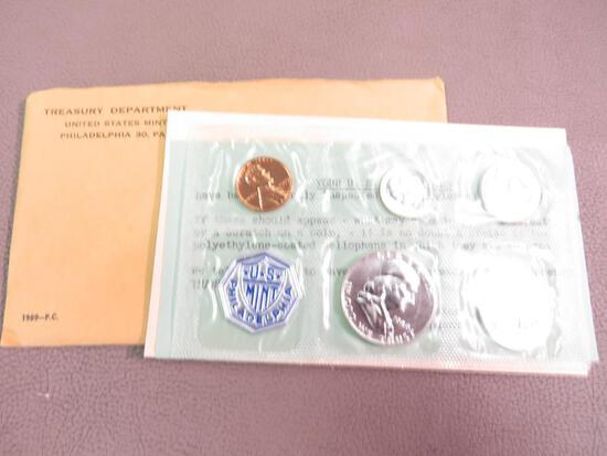 1959 Philadelphia Proof Coin Set