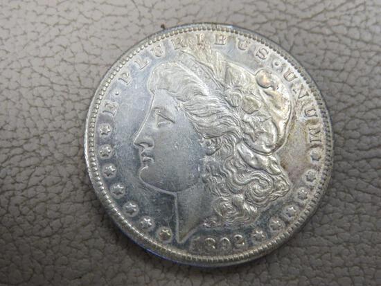 1892 Carson City Morgan Silver Dollar Coin