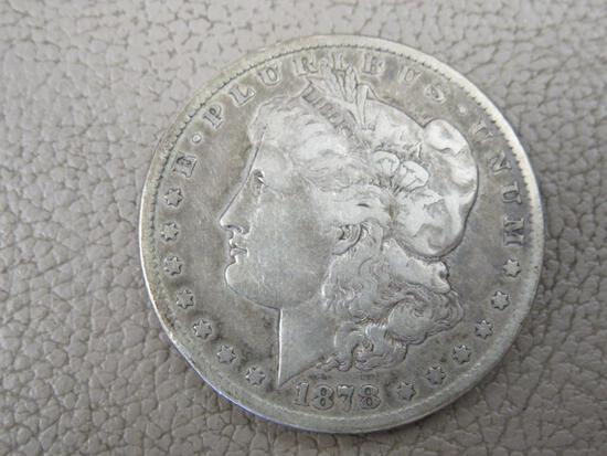 1878 Carson City Morgan Silver Dollar Coin