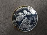 USMC Semper Fidelis One Ounce Silver Round
