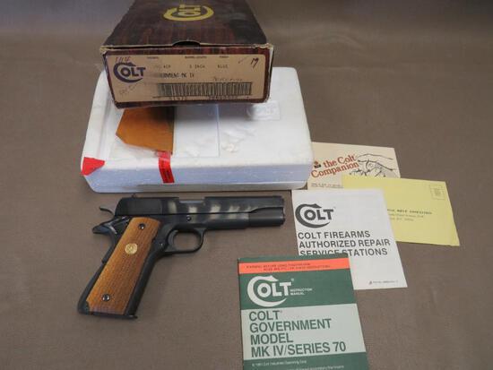 Colt - MK IV Series 70 Government Model