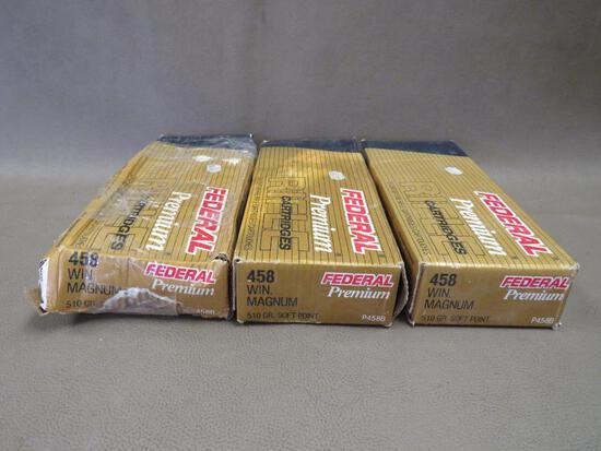 Federal Premium 458 Winchester Magnum Ammunition