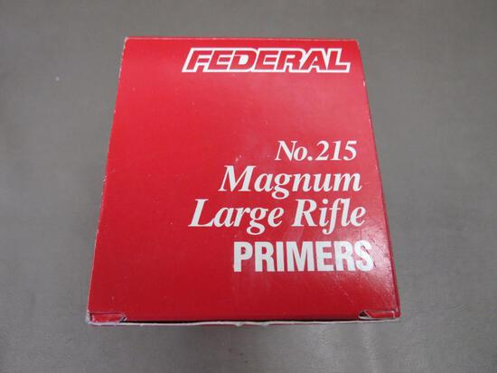 Federal Large Rifle Magnum Primers NO SHIPPING