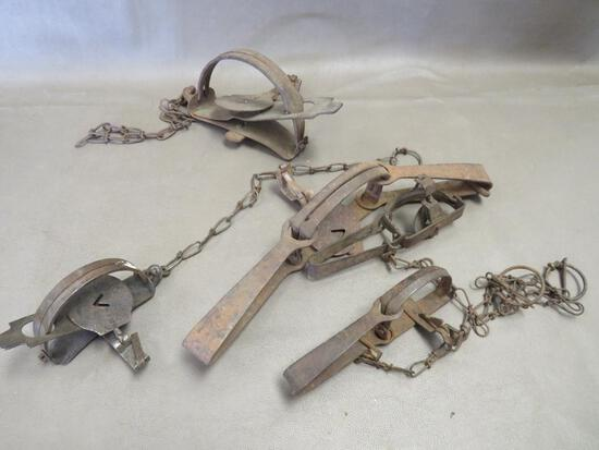 Vintage Leg Hold Traps