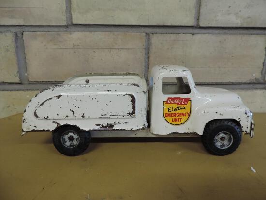 Buddy L Electric Emergency Unit Toy truck