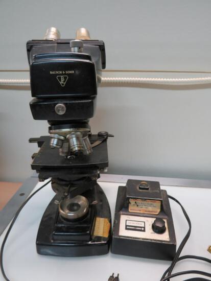 Bausch & Lomb Dynoptic Dual Eye Microscope
