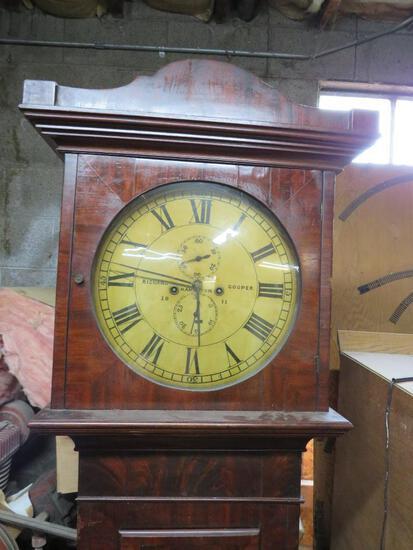 Richard Cooper Antique Grandfather Clock