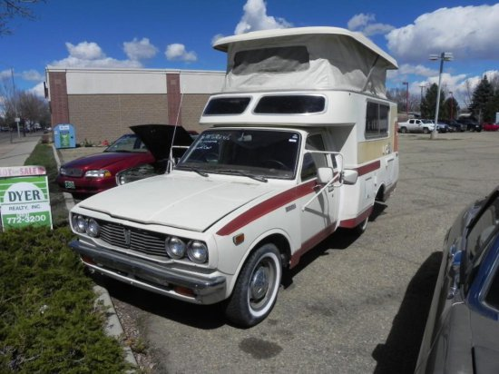 1978 Toyota Chinook Camper VIN    Auctions Online | Proxibid