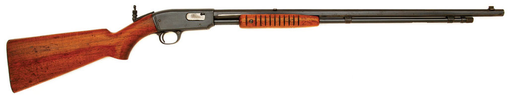 Early Winchester Model 61 Slide Action Rifle