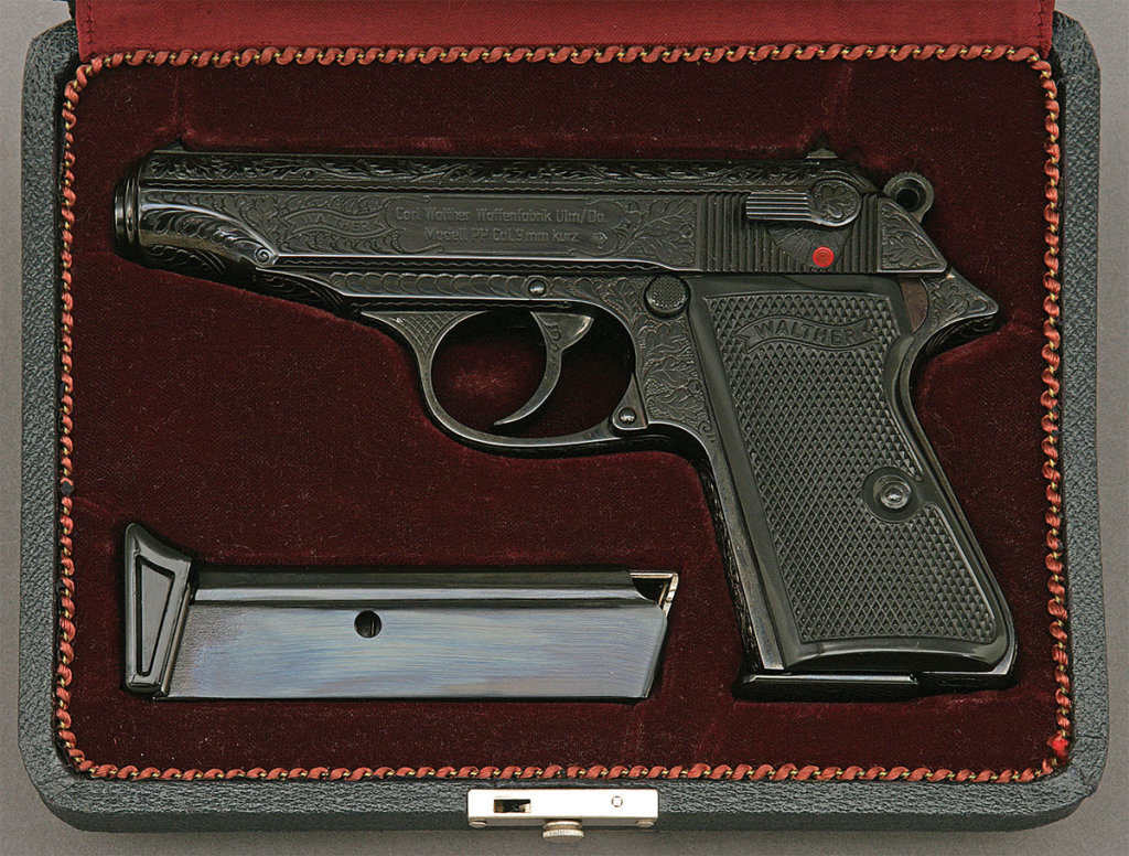 Walther PP Semi-Auto Pistol with Factory Engraving
